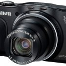 New!  Canon PowerShot SX700 HS 16MP 30x Wi-Fi NFC Full HD Digital Camera Black