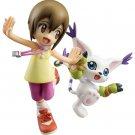 MegaHouse G.E.M. Yagami Hikari Kari Kamiya & Gatomon (Digimon Adventure) Figure