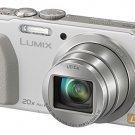 New!  Panasonic LUMIX DMC-TZ40 Leica DC Lens 20x 18.1MP GPS Wi-Fi White