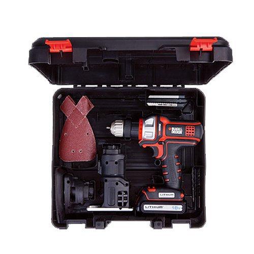 Brand New Black and Decker 18V Drill Sander Jigsaw EVO183 Multi Tool Japan