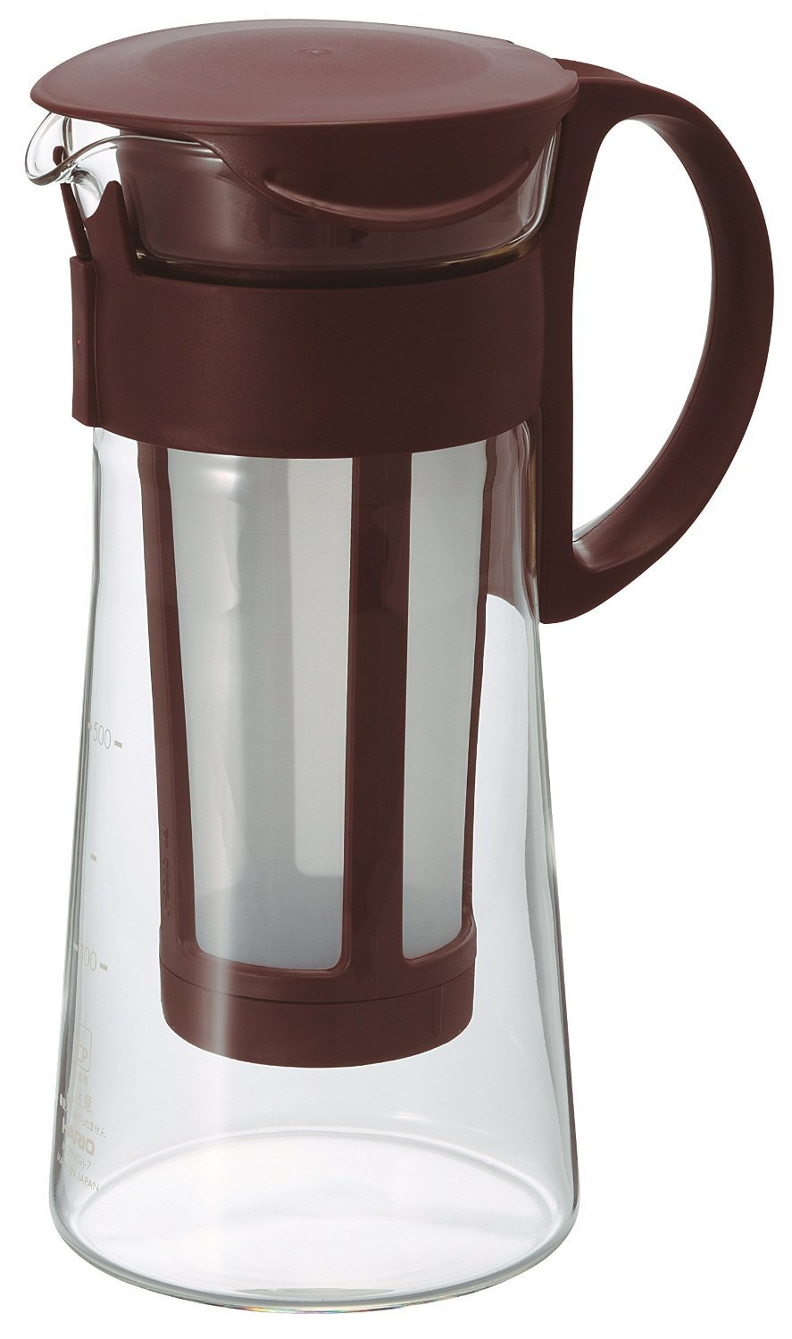 Hario Out water Coffee Cafe Pot Cold Brew Brown 600ml MCPN-7CBR Made in JAPANF/S