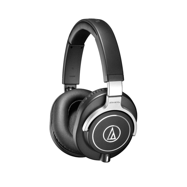 Audio-technica Professional Monitor Headphones ATH-M70x free