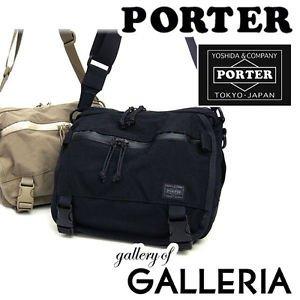 New PORTER Klunkerz Shoulder Bag S Yoshida Bag 568-08175 Black