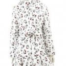 Christmas Gift! PRE SALE! Hello Kitty x Nina Mew Long down coat,Vest WhiteJAPAN