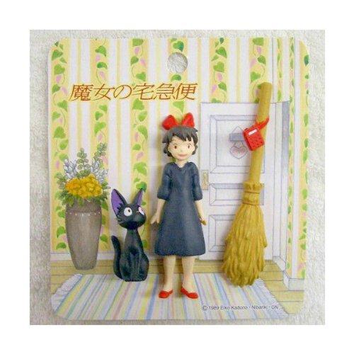 Kiki's Delivery Service Jiji kiki 3 small magnet Ghibli Japan