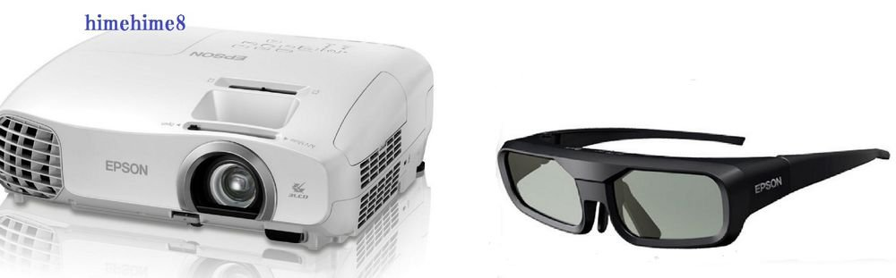 Epson Home Cinema Projector EH-TW5200 + 3D Glasses SET HDMI Full Japan Model F/S
