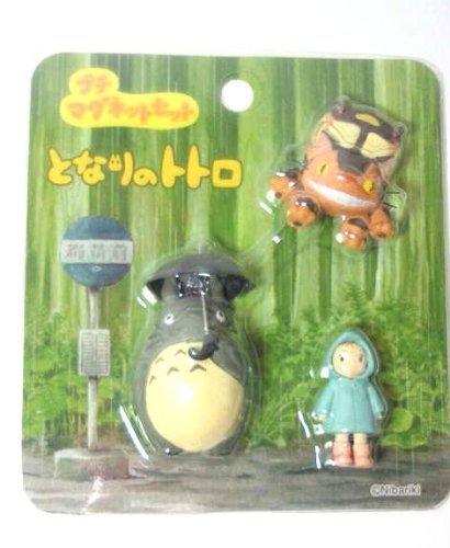 My Neighbor Totoro 3 small magnet Bus stop of rain ve Studio Ghibli Japan