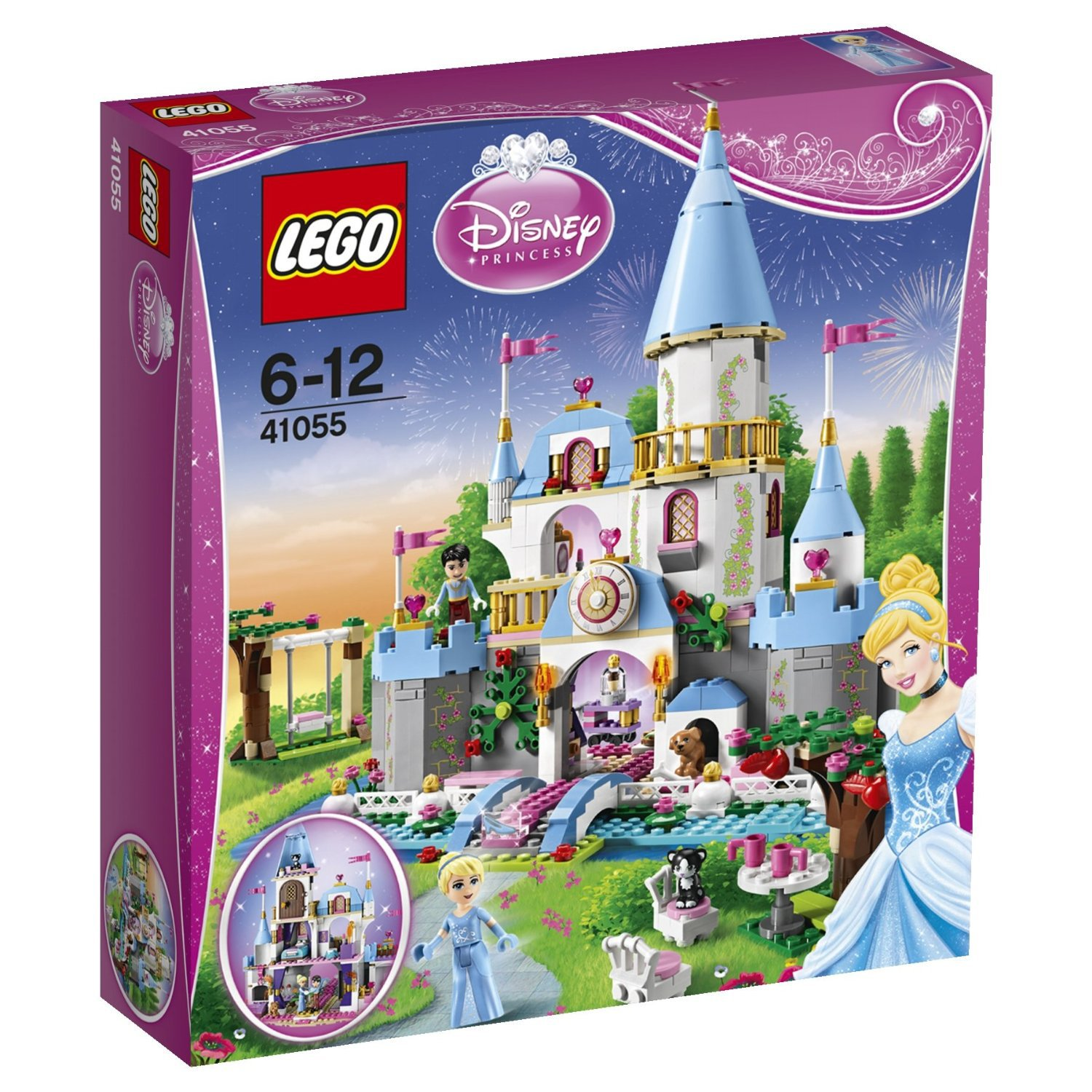 LEGO Disney Princess Cinderella's Romantic Castle (41055)