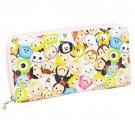DISNEY BAG Disney TSUMTSUM Tsumutsumu round wallet D1184 white (white)