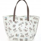 Chip N' Dale Samantha Thavasa Disney Tote Hand Bag Beige JAPAN