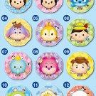 Balloon Mascot Disney TSUM TSUM 12pcs Mini Balloon Strap ensky Japan