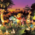 Disney Shining Jigsaw Puzzle Pooh Candles Party D-2000-527 2000 pieces Tenyo