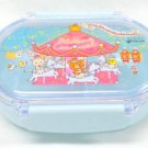 Rilakkuma Wonderland light blue lunch box case BENTO KYARABEN Merrygoround JAPAN