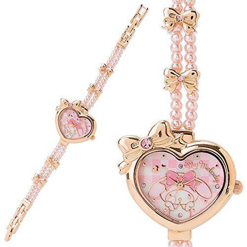 My Melody Bracelet Watch (ribbon) Kawaii Cute SANRIO Japan Free Shipping NEW