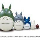 New! Studio Ghibli My Neighbor Totoro Matryoshka Doll Toy Japan F/S anime plush