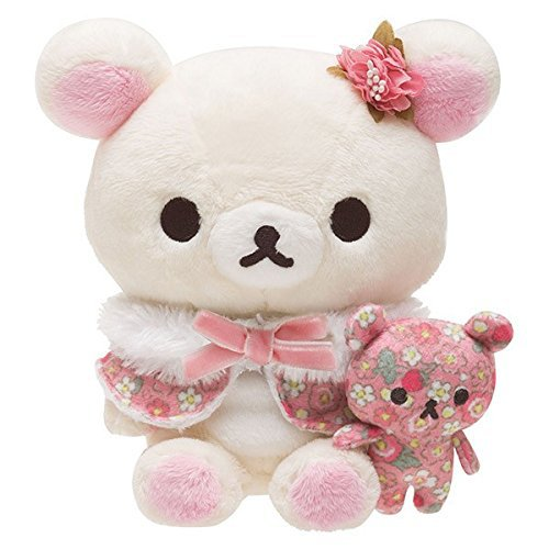 San-X Strawberry Flower of Korilakkuma Plush Doll Pink Japan limited! NEW F/S