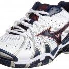 Mizuno Wave Tornado 9 Volleyball Shoes White New V1GA1410