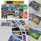 Studio Ghibli 2016 Wall Art Frame Calendar 62x42cm 36 Sheets Animated Films F/S