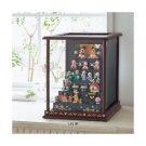 Disney Hina doll Dankazari full set + Display case ❤ JAPAN limited Kimono Mickey