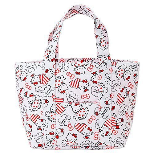 Sanrio Japan Hello Kitty Kitchen 2 Way Cool Keeping Tote Bag Case NEW  F/S
