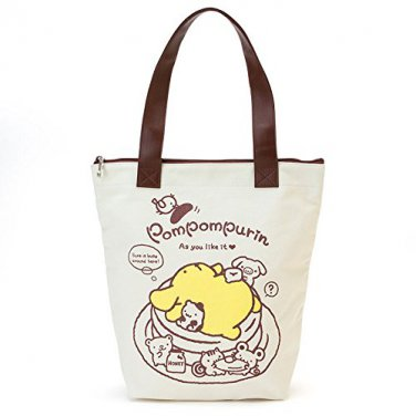 Pompompurin Tote bag F/S Kawaii SANRIO from JAPAN