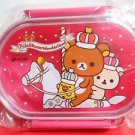 Rilakkuma Wonderland Merrygoround Pink lunch box case BENTO KYARABEN JAPAN FSNEW