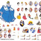 NEW! Disney Princess Once Upon a Time 45 pattern Embroidery card ECD047 Japan