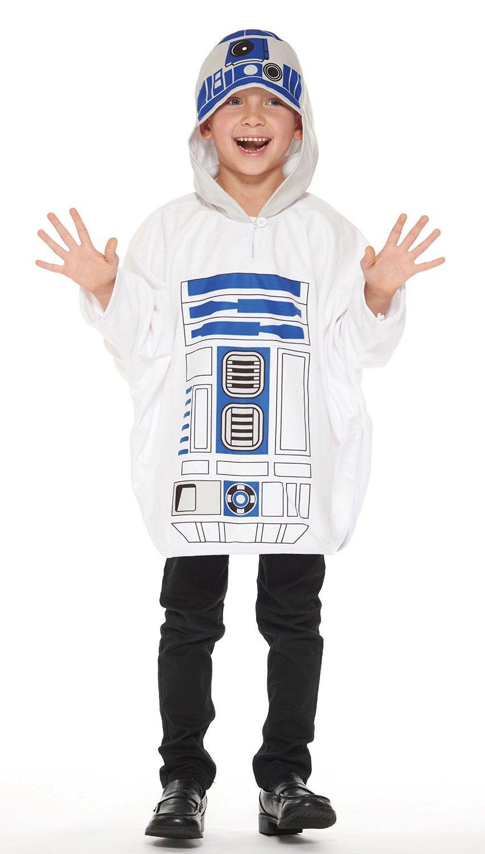 New Star Wars R2-D2 Poncho Kids Costume Unisex Length 56cm 95660 RUBIES JAPAN