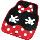 JDM Disney Minnie floor mat front car accesorry cute Kawaii 6251-31BK