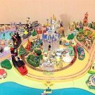 US Disney Parade Disneyland Diorama Model & Magazine Parts SET Miniature NEWF/S