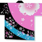 "HAPPI Adult S size 5'7"" Japanese Traditional Festival Coat  Yukata Kimono New"