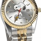 New! Snoopy charming eye Watch natural diamond limited 3000 (Combination Type)