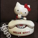 Vintage!! 1980s.Hello Kitty Dial Telephone Japan limited Collector product Rare