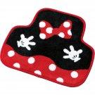 JDM Disney Minnie floor mat front car accesorry cute Kawaii 6251-06BK F/S