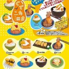 Re-ment Miniatures Figures Gudetama Egg Dishes Full 8 SET SANRIO Japan