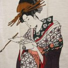 "Japanese Doorway Noren Ukiyoe UTAGAWA CurtainTapestry,Partition 33"" x 59"" NEW"