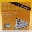 Kawada nanoblock, Mark Twain Riverboart, Tokyo Disney Resort Limited Item!NEW
