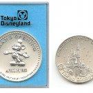 Vintag!1983 Tokyo Disneyland Grand Opening  Medal coin Medallion Rare NEW JAPAN