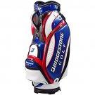 NEW BRIDGESTONE Golf 2015 Enamel Caddy Bag 9.5/47 inch model CBG516 TR Tricolor