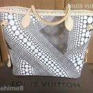 LOUIS VUITTON Yayoi Kusama Collaboration Monogram Neverful shoulder Tote Bag FS