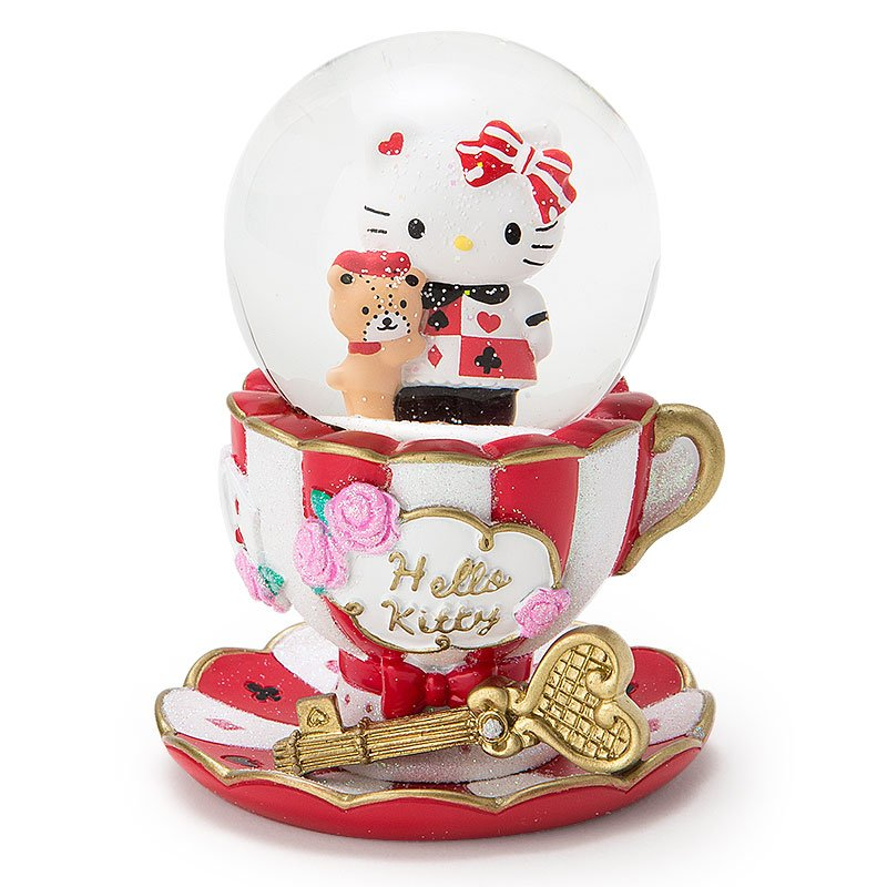 New release! 2016 Hello Kitty Christmas Snow Globe  dome Japan Gift FS