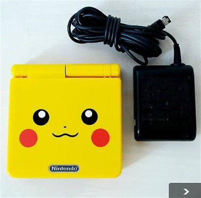 Offer Pokemon Pikachu LIMITED EDITION Nintendo GAMEBOY ADVANCE SP CONSOLE FSUsed