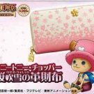 One Piece Tony Tony Chopper SAKURA Roseo wallet purse Japan limited! F/S NEW FS