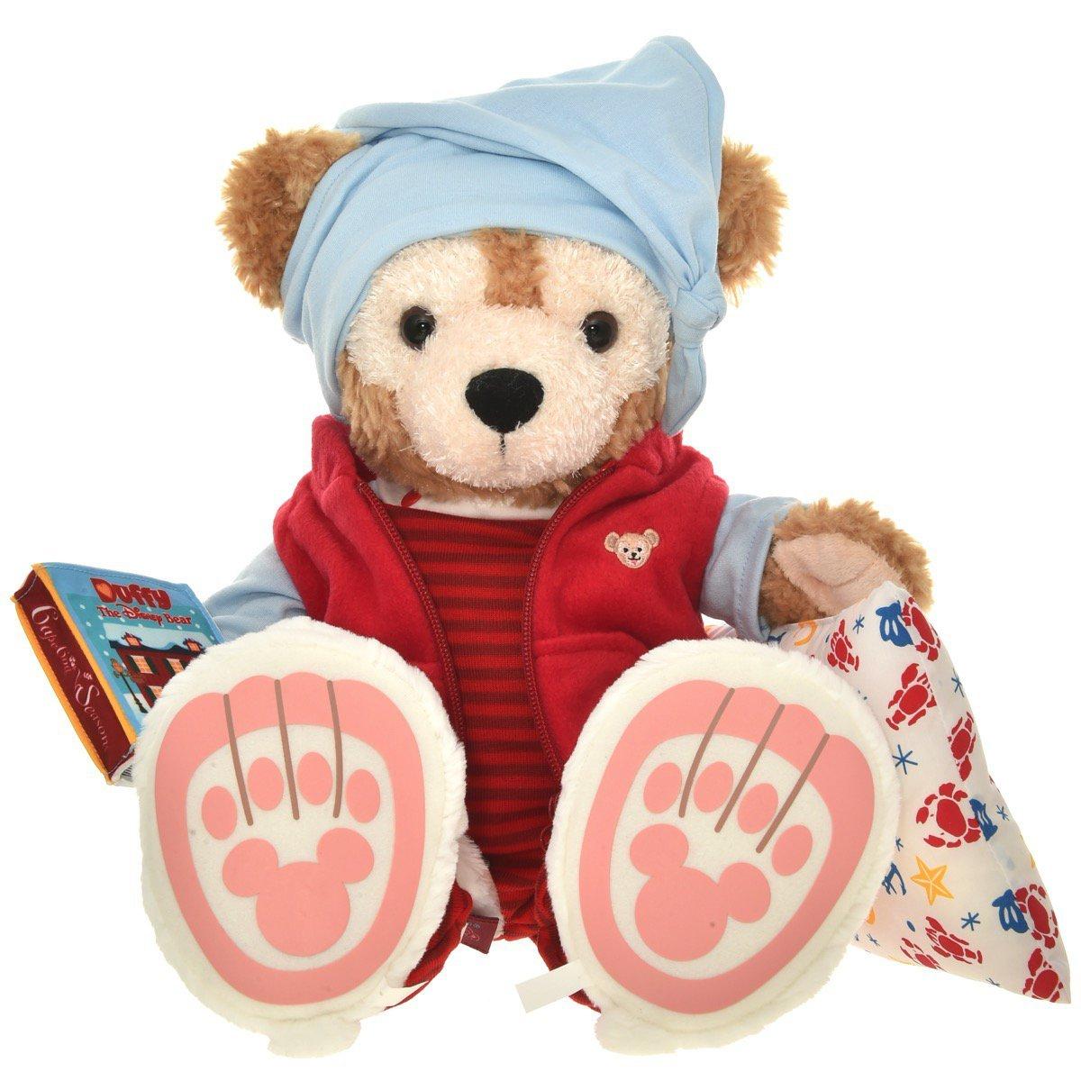 "NEW Disney Duffy bear 10th Anniversary Pajamas costume SET S 17"" Good night TDS"