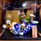 Tokyo Disney Resort Limited Mickey& Donald Duck of carp Hina dolls Figure FSNEW