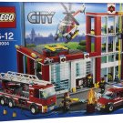 Bran dNEW LEGO City Fire Station (60004)  Free shipping