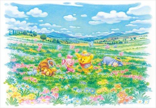 Disney Jigsaw Puzzle Winnie THE Pooh Flower Field D 1000 356 1000 Pieces Tenyo