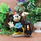 Disney Minnie Mouse LED Resin Garden Light Room Table lamp Figure JAPAN NEW FS