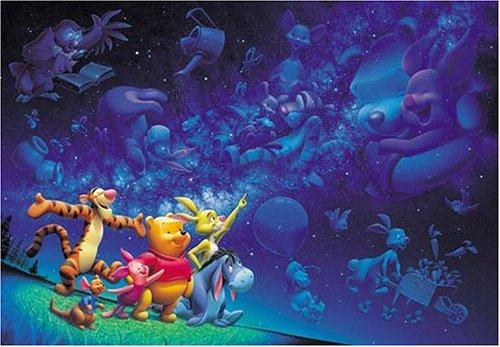 Disney Jigsaw Puzzle Pooh Starlight fantasy D-1000-202 1000 pieces Tenyo F/S