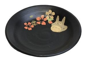 Totoro Minoyaki Midium Dish Plate MADE IN JAPAN F/S MIB Studio Ghibli JAPAN